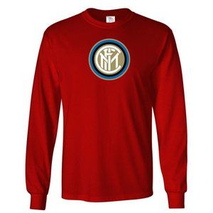 Men's Inter Milan Soccer Logo Long Sleeve